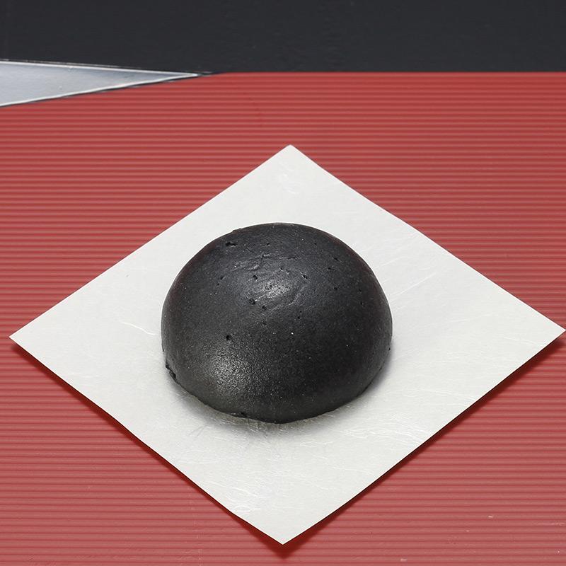 画像1: もっちりミルクまんじゅう(黒)